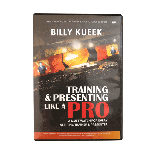 Training and Presenting Like A Pro